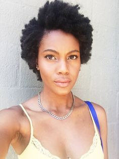 "sorrychangedmyurlagain: ""missj0hnson: ""I took my braids out. Shaved my head June 2013! "" You're so so beautiful. """