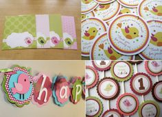 bird themed birthday party | ... Design Board: Little Bird Birthday Party Theme | This Lovely Home