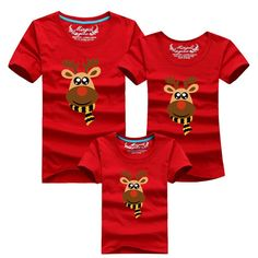 8cd6f2c13c Christmas Milu Deer Family Matching Shirts Matching Family Outfits