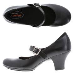 Women's Dani Mary Jane Pump, Black, hi-res Lot#: 137827 $34.99  Slip Resistant