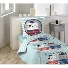 Modré detské posteľné obliečky CAPITAINE CHAT Bed Sets, Bedding Sets, Comforters, Toddler Bed, Kids Rugs, Blanket, Furniture, Home Decor, Products