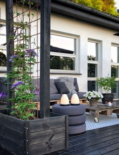 Outdoor Living Areas, Outdoor Spaces, Outdoor Decor, Room Set, Garden Inspiration, Furniture Decor, Planters, New Homes, Lounge