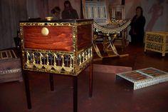 little furniture in the  tomb of Tutankhamon