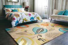 Traumteppich Bella Stripe Harlequin Designteppich Brink&Campman Schurwolle modern online günstig bestellen bei Traumteppich.com