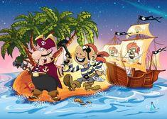 Kant en klare speurtochten: piratenfeestje Speurtocht: het piratenmysterie De kinderen zoeken met behulp van aanwijzingen naar raadsels en uitdagingen die opgelost moeten worden om de sleutels van de schatkist te vinden. Als de kids alles op kunnen lossen, is de buit, de fantastische zeeroversschat, binnen! #piratenfeestje #speurtocht #kinderfeestje