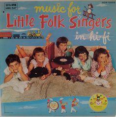 Music For Little Folk Singers #vintage #lp #vinyl #record #album listening to records