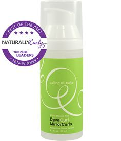 DevaCurl MirrorCurls - CurlMart Best Hair Care Products, Deva Curl, Naturally Curly, Curls, Cool Hairstyles, Natural Hair Styles, Personal Care, Good Things, Bottle