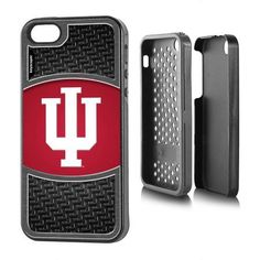 Indiana Hoosiers Apple iPhone 5/5s Rugged Case