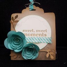 Julia's Cards: Sweet Sweet Moments
