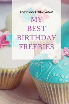 Freebies On Your Birthday, Birthday Rewards, Birthday Week, Free Birthday, Birthday Stuff, Birthday Calendar, Get Free Stuff, Frugal, Saving Money