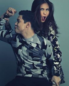 His better half. ;) Alden Richards and Maine Mendoza #ALDUB