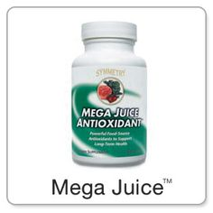 Are You Eating Enough Fruits and Vegetables? 2 caplets of Symmetry's Mega Juice Antioxidant provide adavnced levels of antioxidant benefits of 4-5 daily servings of fruits and vegetables. It offers a wide variety of beneficial antioxidants in a concentrated form, and more. Cost- $33.60 retail or $21.50 Pref Custmr http://www.symmetrydirect.com/chevonee Click on products on the first page...click on PRODUCTS again on the 2nd page....scroll until u find Mega Juice