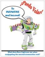 Buzz Lightyear Magnet: To infinitive and beyond. http://spanishplans.org/store/supplies/magnets/