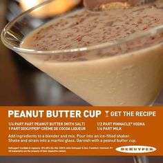 "@Allison Standard Beverage Corporation (Standard Beverage Corporation) on Instagram  ""It's like a Reese's - adult style. Whip up one of these tasty treats and you won't be disappointed! #pinnacle #holidays #cocktails #peanutbutter"""