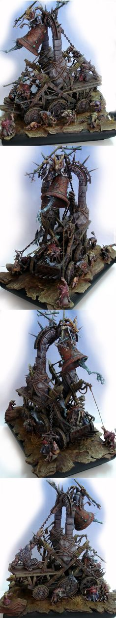 Skaven Bell painted by Elroi