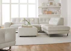 canapé d ' angle convertible blanc pour votre salon