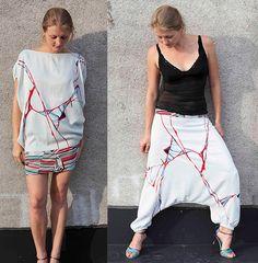 3 in 1 Multipurpose Reversible Afghani/Harem Pants/Dress/Skirt. $89.99, via Etsy.