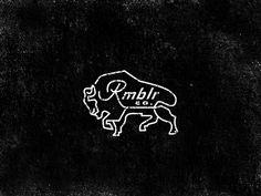 Rmblr Buffalo logo - by Keith Davis Young