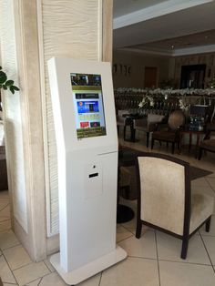 APOLO kiosk for check-in / checl-out at Hotel.   Bring self.service to Hospitality sector, by   PARTTEAM & OEMKIOSKS.   See more at www.oemkiosks.com  #indoor #kiosk #hotel #hospitality #self-service #check-in #check.out