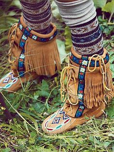 Free People Annie Mckay Moccasin - Soo these are $828.00...I will never own them but I love the style and will search high and low for a pair just like them!