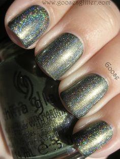 Goose's Glitter: China Glaze - Agro: Holo Layering