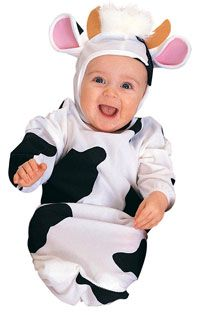 Cow Bunting Baby Costume - Baby Costumes
