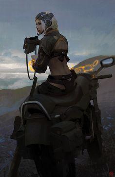 We Are Mercenary: Bike Recon by madspartan013.deviantart.com on @deviantART
