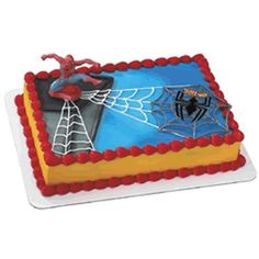 Birthday Parties Blog: Spiderman Birthday Cakes And Party Supplies