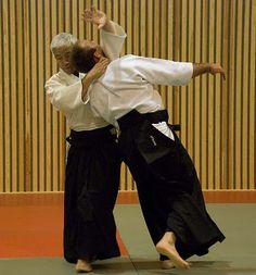 "Irimi Nage in Aikido - ""Entering Throw"""