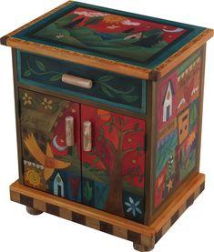 Nightstand Cabinet