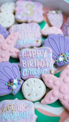 Mermaid Party Decorations, Garden Party Decorations, Mermaid Parties, Birthday Party Decorations, Birthday Parties, Birthday Ideas, 4th Birthday, Birthday Cake, Donut Party