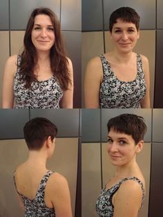 Before And After Haircuts : before, after, haircuts, Haircut, Before, After, Women