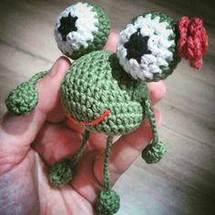 #frog#crochetfrog#amigurumi#crochet