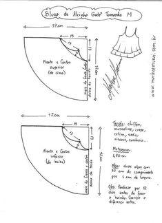 Выкройки. Уроки кройки и шитья *Patterns, sewing
