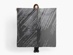 20% off sitewide Use HANGON20 at checkout! Line Art The Scratch no. 2 by cool-shirts #scarf #accessories #style