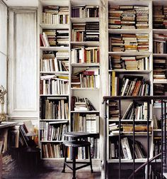 We really need more books. And shelves.