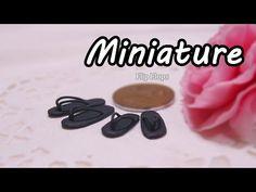 ▶ 미니어쳐 쪼리 만들기 Miniature * Flip Flops - YouTube