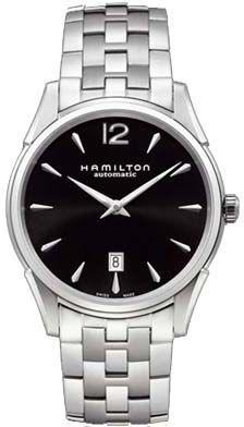 H38615135, , Hamilton jazzmaster slim auto watch, mens