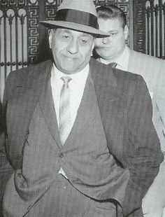 "Antonino Accardo (""Tony,"" ""Joe Batters,"" ""The Big Tuna"") (1906–1992) – Remained as top Outfit consigliere until his death and approved every major decision that was made"