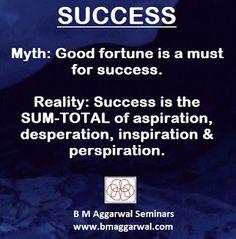Winners: Good Fortune V/s Success