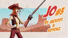 Jo episode 3 on Spunch Comics! by Rafchu.deviantart.com on @DeviantArt