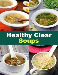 vegetable healthy recipes clear soup page of 1 2 Healthy Clear Soup Recipes Healthy Clear Vegetable Soup Recipes Page 1 of can find Clear soup recipes and more on our website Healthy Vegetable Recipes, Vegetable Soup Recipes, Chicken Soup Recipes, Healthy Dinner Recipes, Diet Recipes, Healthy Vegetables, Diet Meals, Diet Tips, Vegetarian Recipes