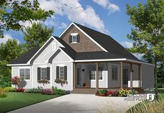 Country style 2 to 3 bedroom bungalow with home office # 3108-V3    https://www.drummondhouseplans.com/house-plan-detail/info/galerno-4-country-1003105.html
