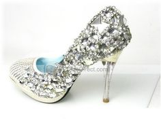 totally blinged! #shoes #footwear #glitter #fashion #heels