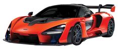 MCLAREN SENNA ORANGE 1/24 SCALE DIECAST CAR MODEL BY MOTOR MAX 79355 Rubber Tires, Models, Orange, Motor, Diecast, Scale, Brand New, Art Lessons, Vehicles