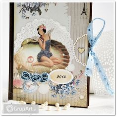 OC na rower Decoupage, Scrapbooking, Frame, Postcards, Tags, Home Decor, Picture Frame, Decoration Home, Room Decor