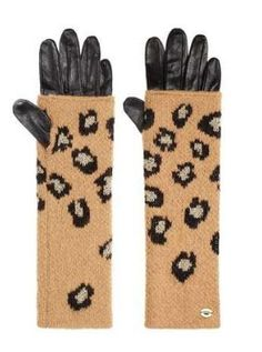 32f62e38d3 Juicy Couture Fiercely Spotted Leopard Mitt Gloves Juicy Couture