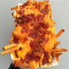 Chesse & Bacon Fries