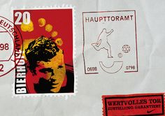 "Read more: https://www.luerzersarchive.com/en/magazine/print-detail/nike-2166.html Nike Stamp is a combination of the German words for ""goal"" and ""post office."" Sticker: Precious goal. Dispatch guaranteed. Tags: Wieden + Kennedy, Amsterdam,Nike,Alvaro Sotomayor,Julio Wallovits"