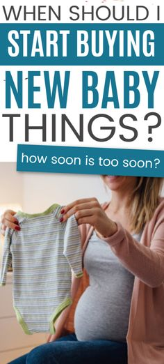 Are you wondering when you should buy baby stuff? These simple tips and ideas can help to put it all in perspective. Chances Of Pregnancy, Early Pregnancy Signs, Pregnancy Care, First Pregnancy, Used Baby Items, Newborn Needs, Baby Samples, Newborn Diapers, Gender Neutral Baby Clothes